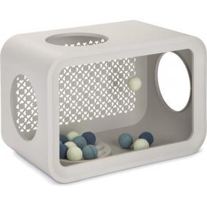 Cat Cube katten speelhuis grijs