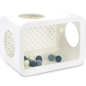 Cat Cube katten speelhuis wit