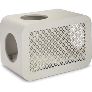 Cat Cube kattenmand grijs