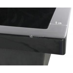 Fonteinvijver polyester rechthoekig 140x70x30 cm