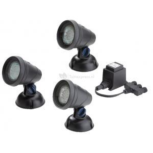 LunAqua Classic LED Set 3 vijververlichting