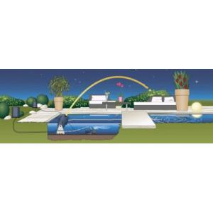 Jumping Jet Rainbow Star fontein