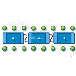 Quadra C1 voorgevormde vijver