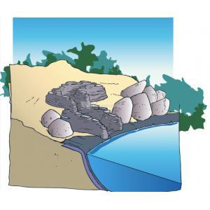 Colorado bocht links waterval