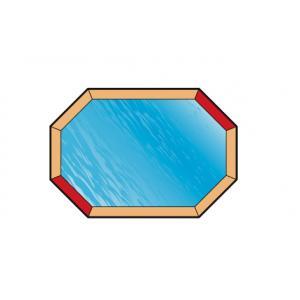 Afdekzeil voor zwembad achthoekig